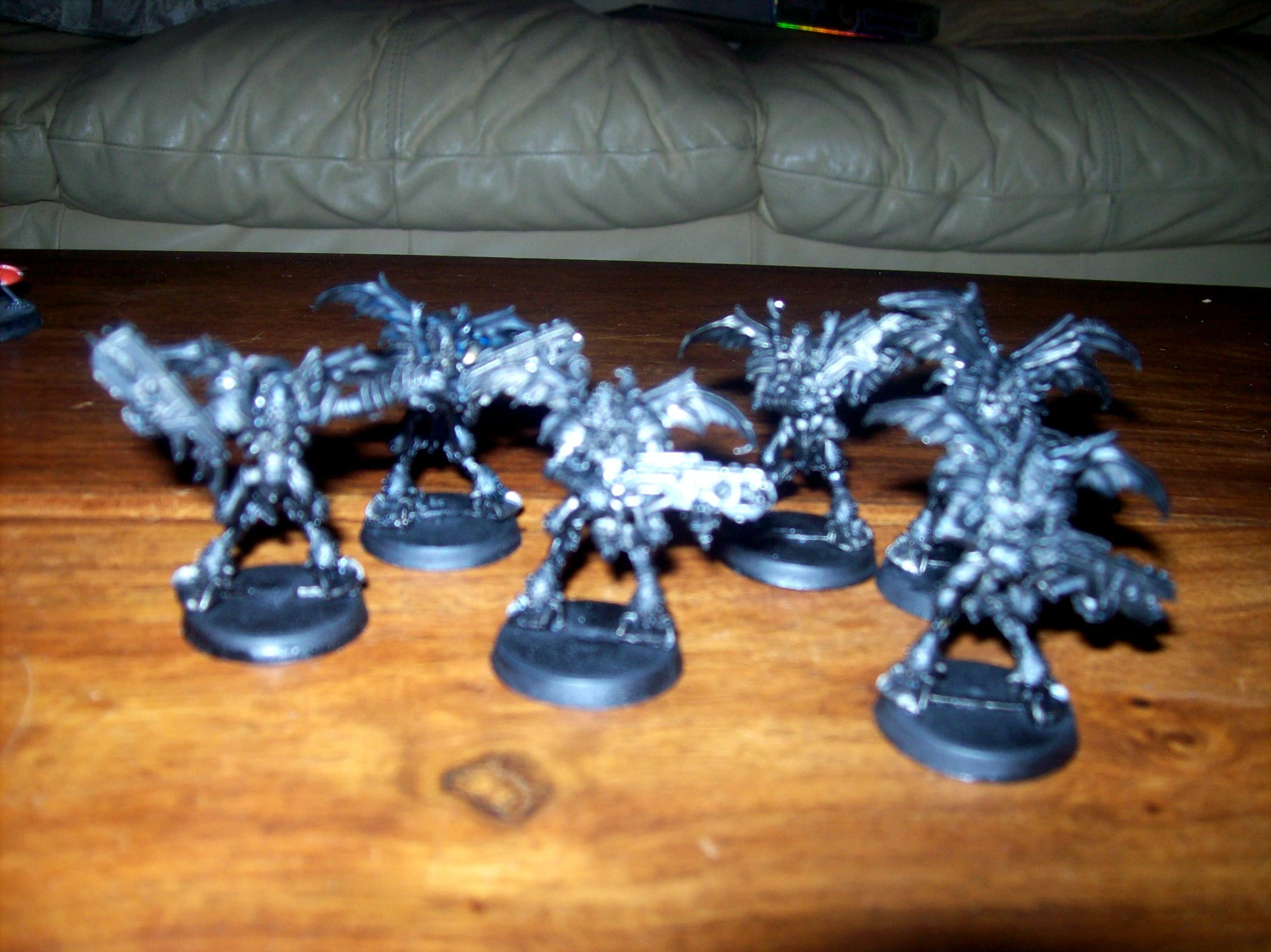 Blurred Photo, Tau, Unit, Warhammer 40,000, Work In Progress