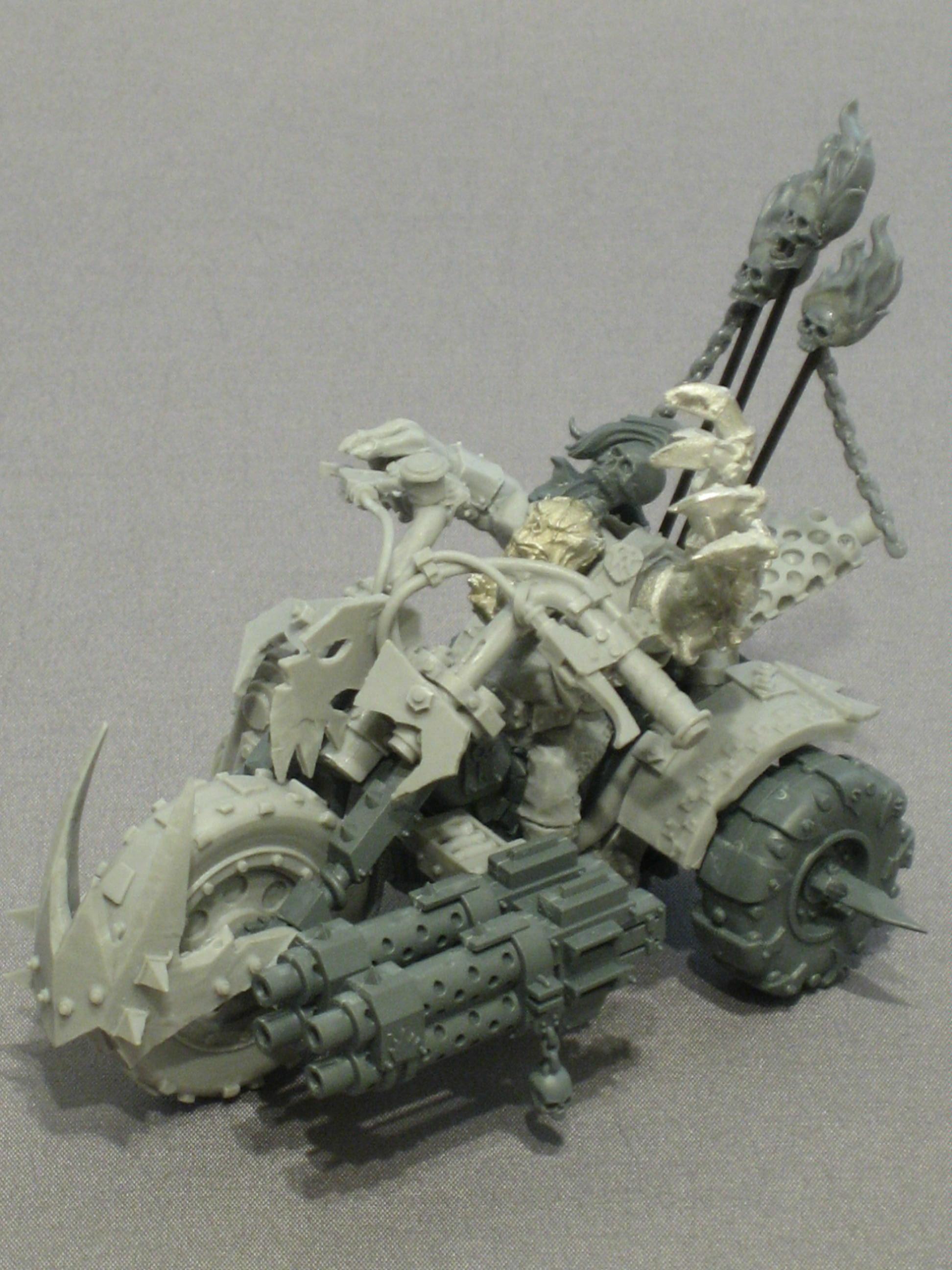 Bike, Orks, Warbike, Wazdakka Gutsmek