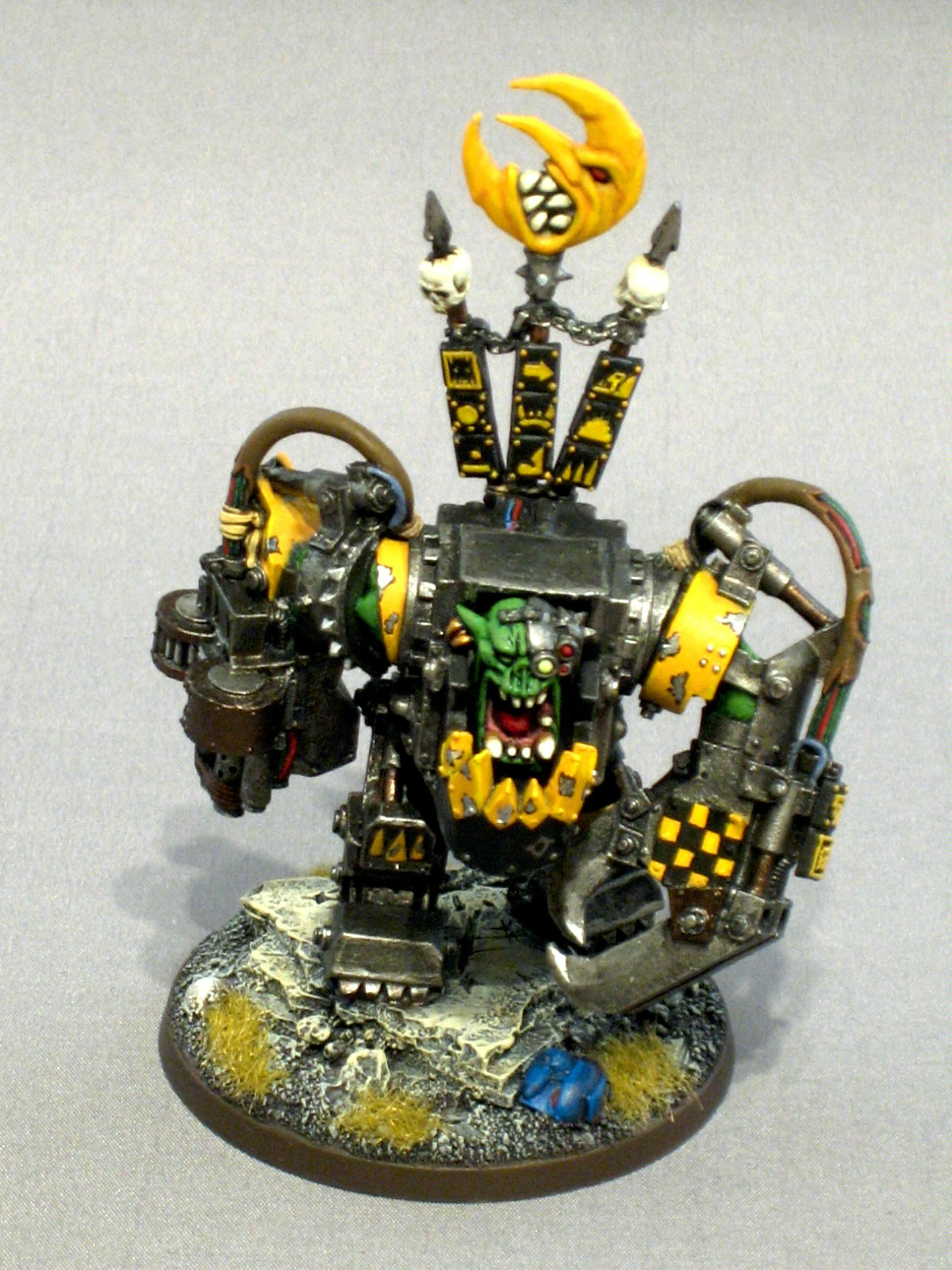 Bad Moons, Mega Armor, Orks, Warboss