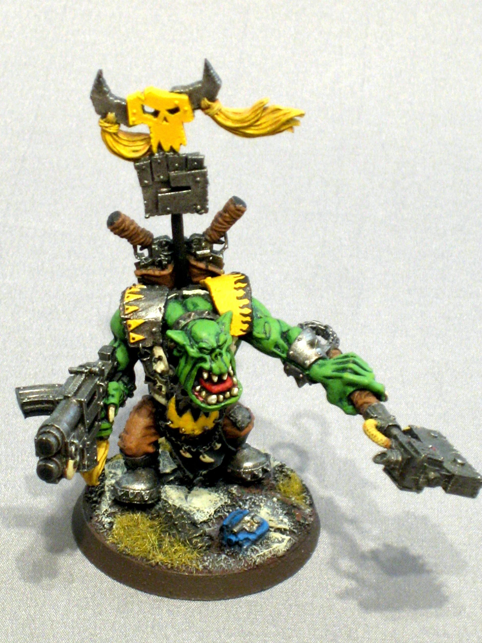 Bad Moons, Orks, Warboss, Warhammer 40,000