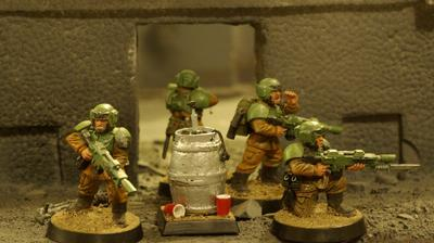 Beer, Cadians, Humor, Imperial Guard, Objective Marker, Warhammer 40,000