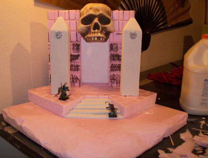 Skull, Terrain, Tomb Kings