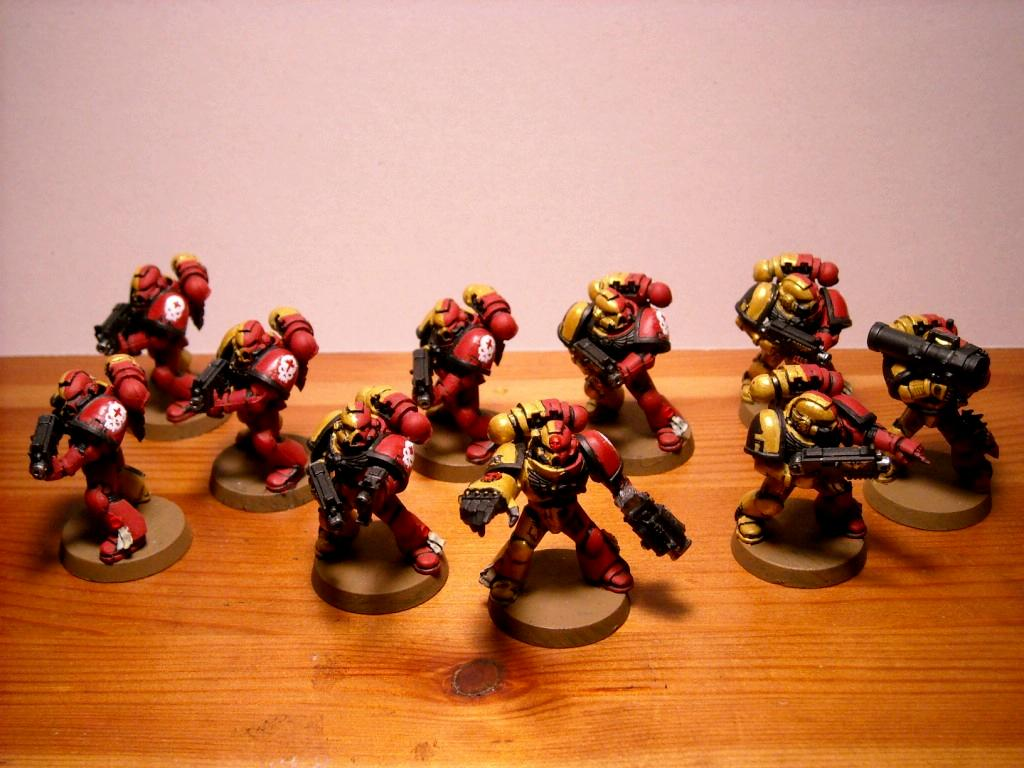 Space Marines, Tactical Squad