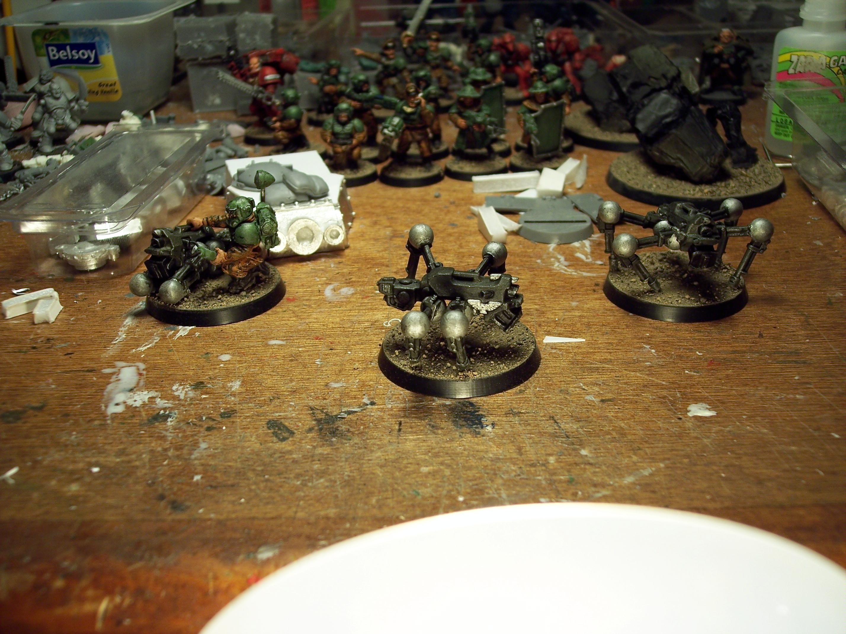 Conversion, Imperial Guard, Warhammer 40,000, Work In Progress