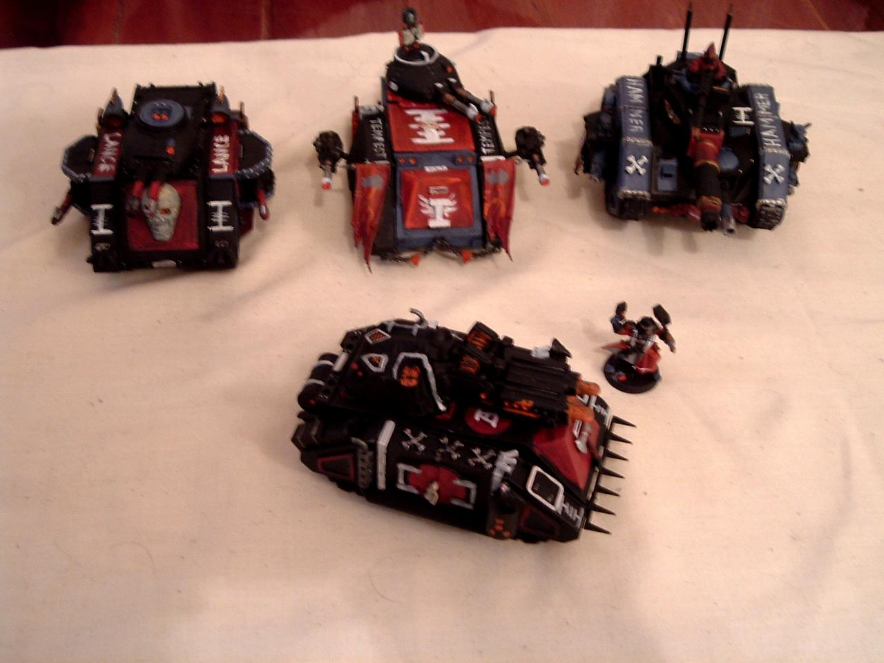 Inquisition, Rogue Trader, Space Marines, Tank