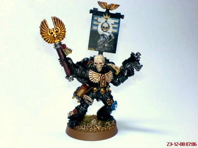 Bolt Pistol, Chaplain, Crozius Arcanum, Space Marines, Ultramarines, Warhammer 40,000