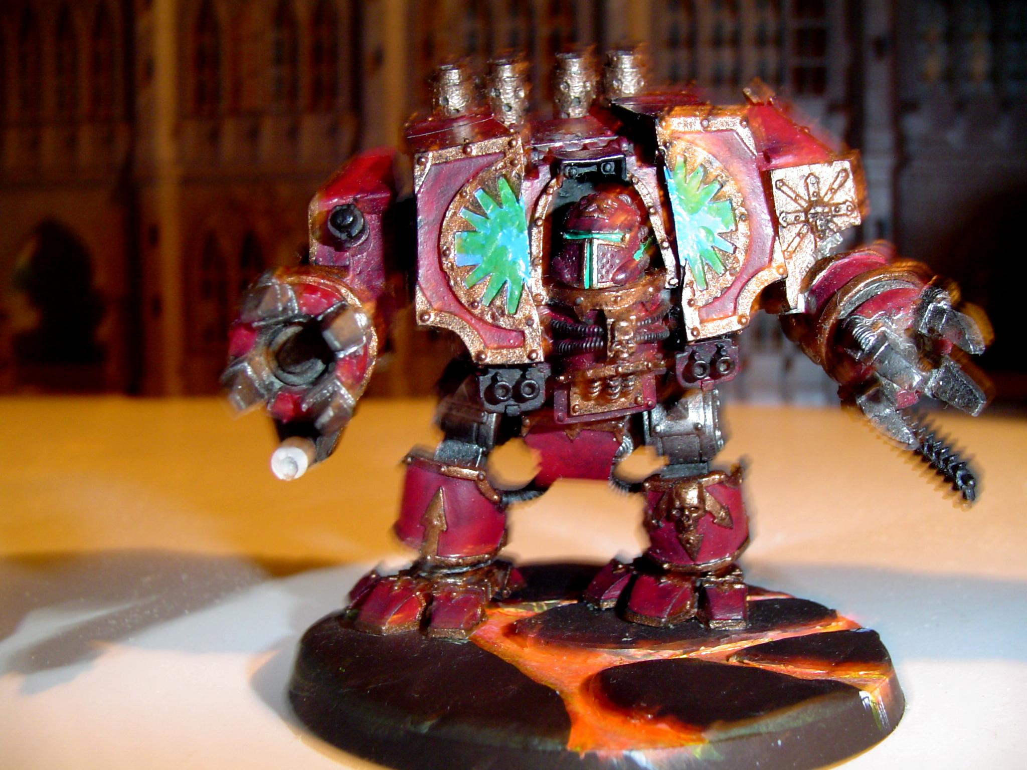 Chaos Dreadnought, Forge World, World Eaters