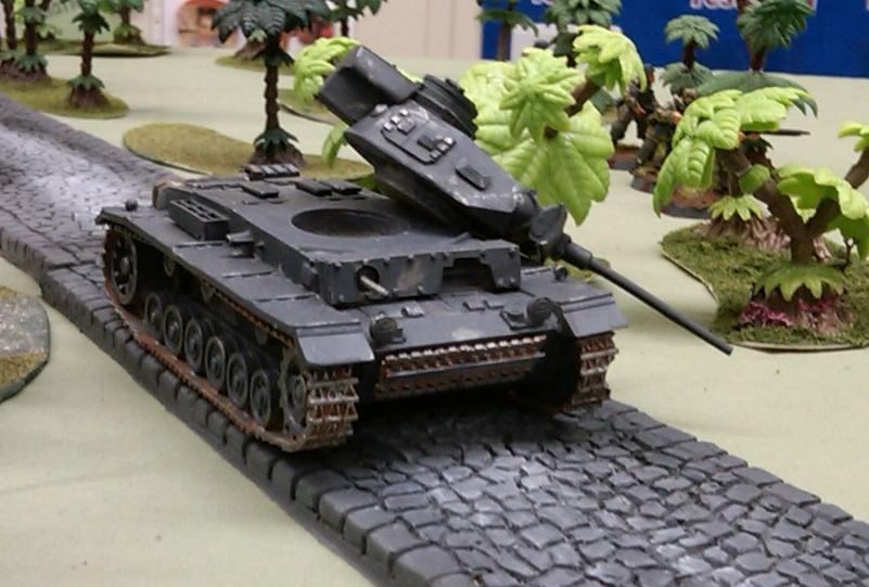 Disposable Heroes, Panzer III L popped!