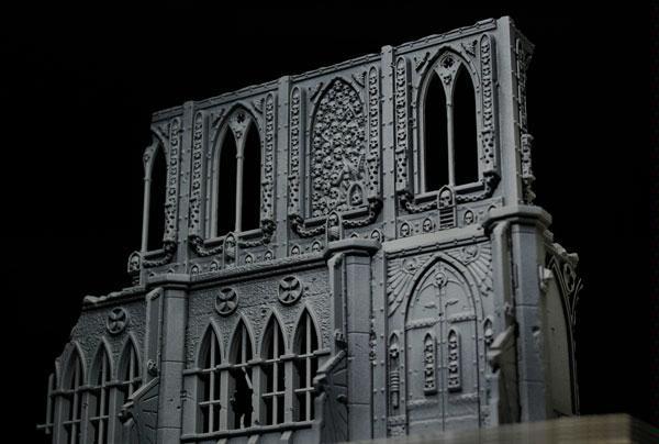 Gothic, Ruins, Terrain, Warhammer 40,000
