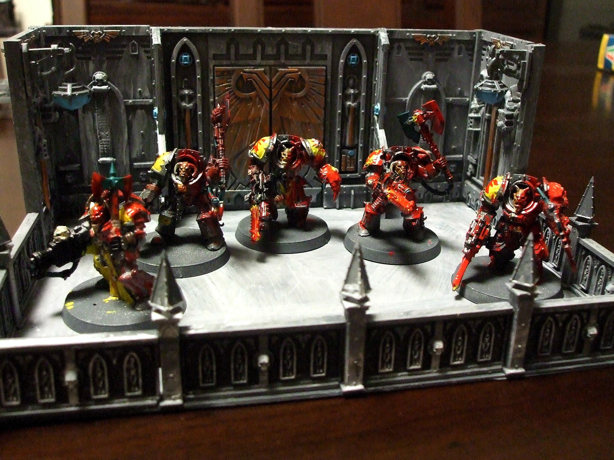 Blood, Chaos Space Marines, Khorne, Terminator Armor