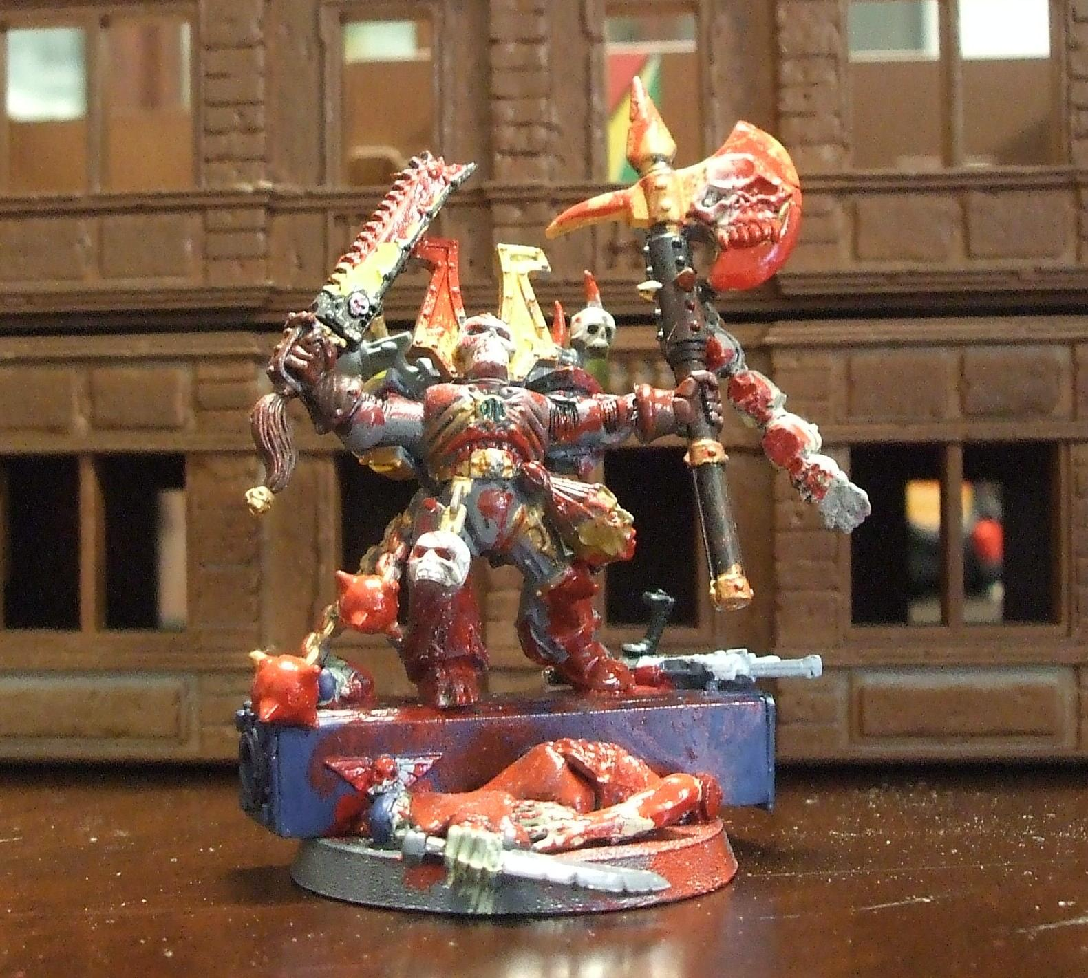 Berserkers, Blood, Chaos Lord, Chaos Space Marines, Kharn, Khorne, Special Character