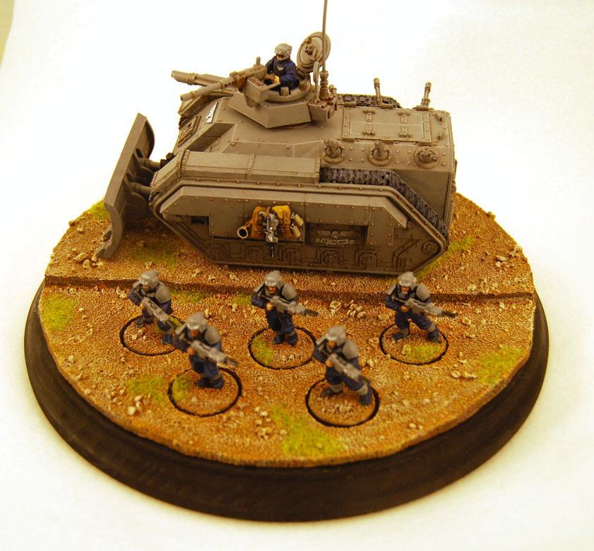 Armored Fist, Chimera, Diorama, Imperial Guard