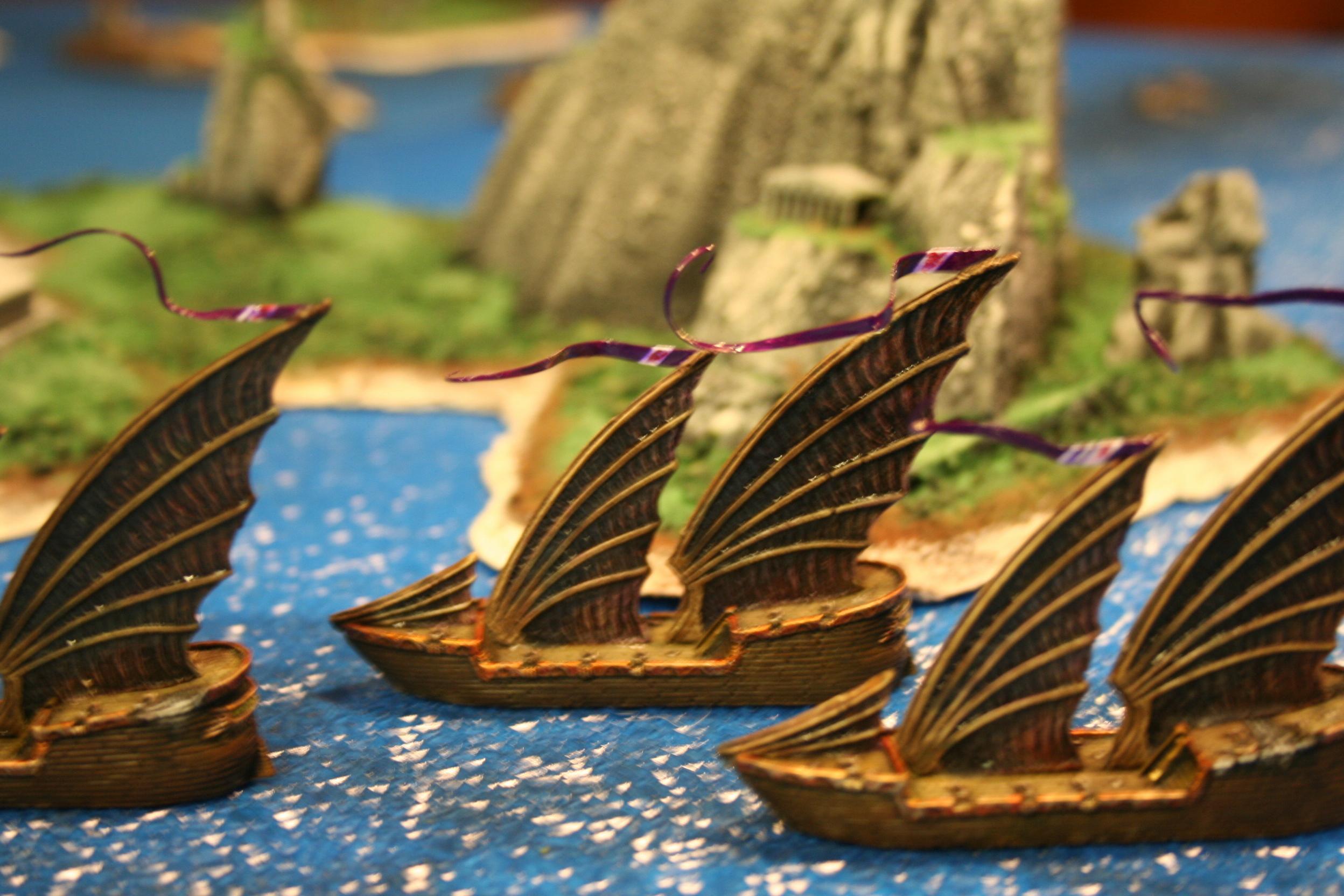 Craig, Cruiser, D6 Generation, Dragon Lords, Island, Uncharted Seas