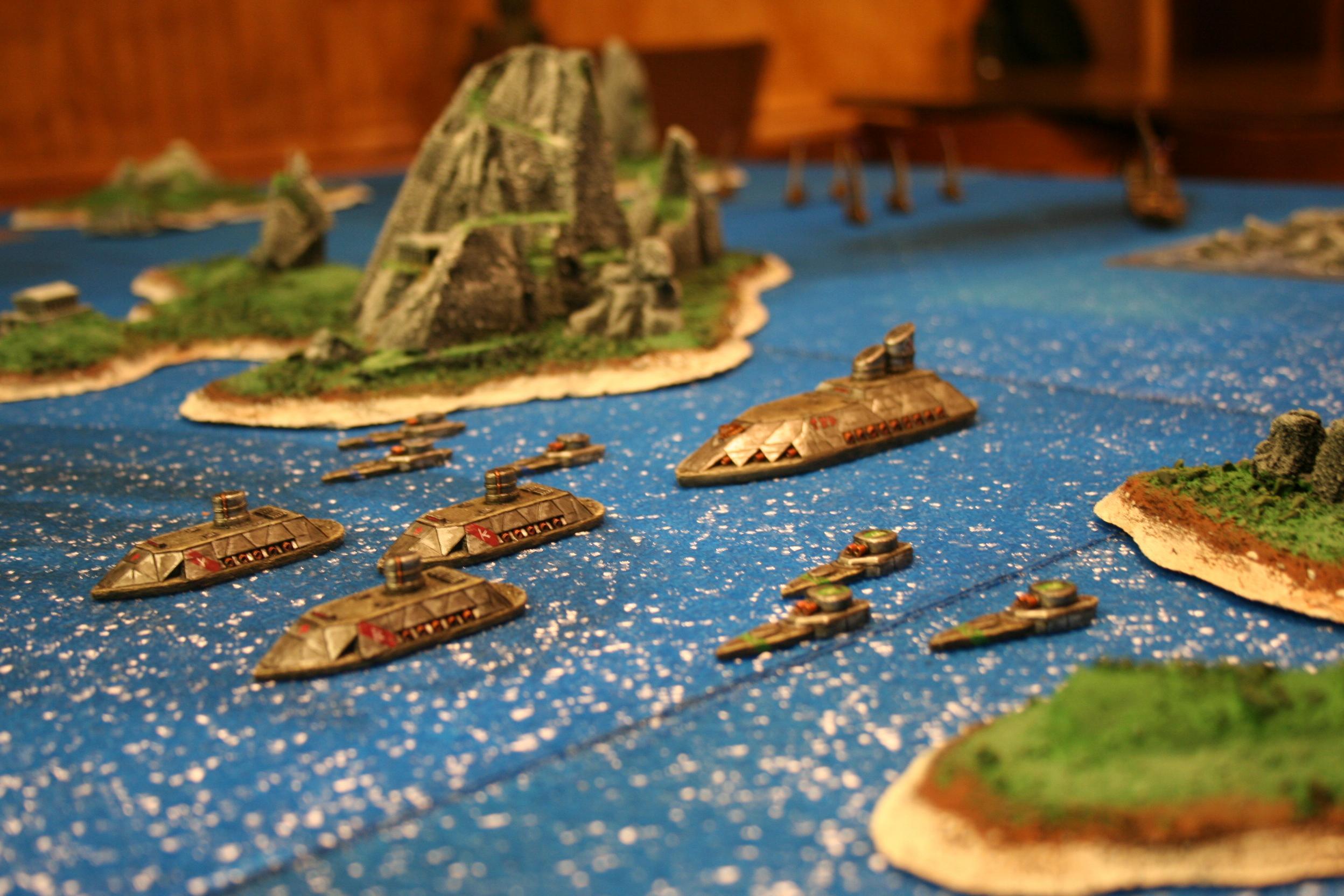 Craig, D6 Generation, Dwarves, Fleet, Iron Dwarves, Island, Starter, Uncharted Seas