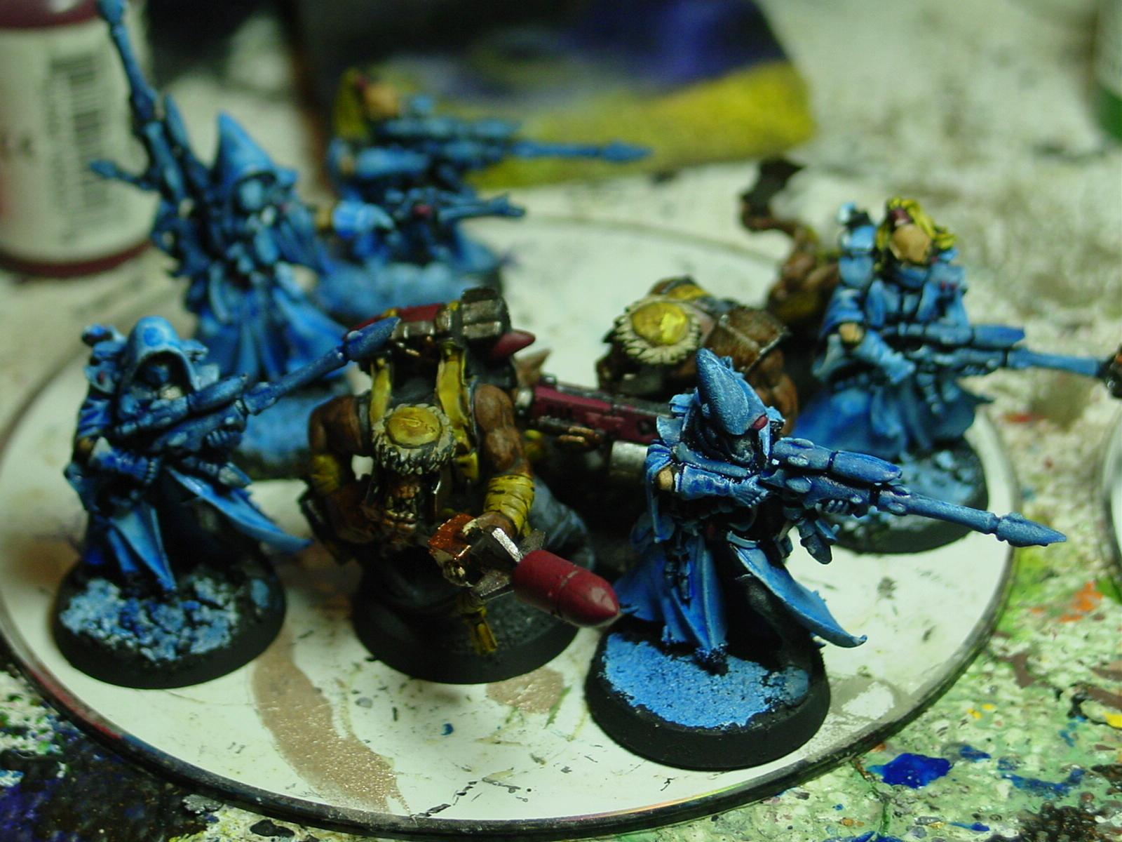 Eldar, Orks, Pathfinders, Rangers, Warhammer 40,000