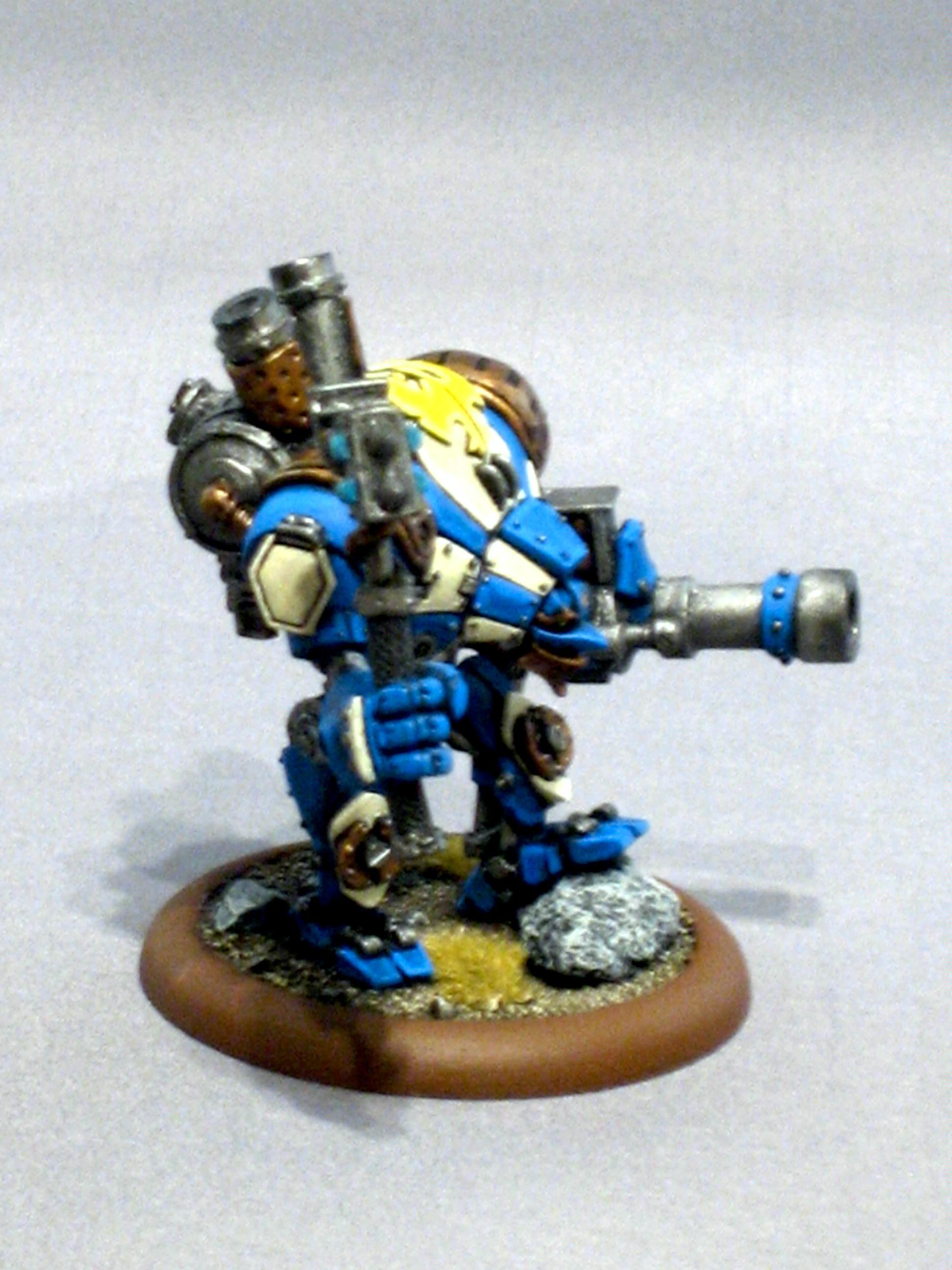 Cygnar, Warmachine, Defender Side 2
