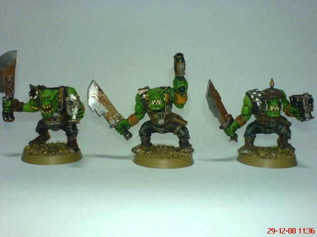 Goffs, Orks, Goff Boyz 2