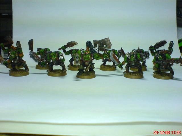 Goffs, Orks, Da Mob
