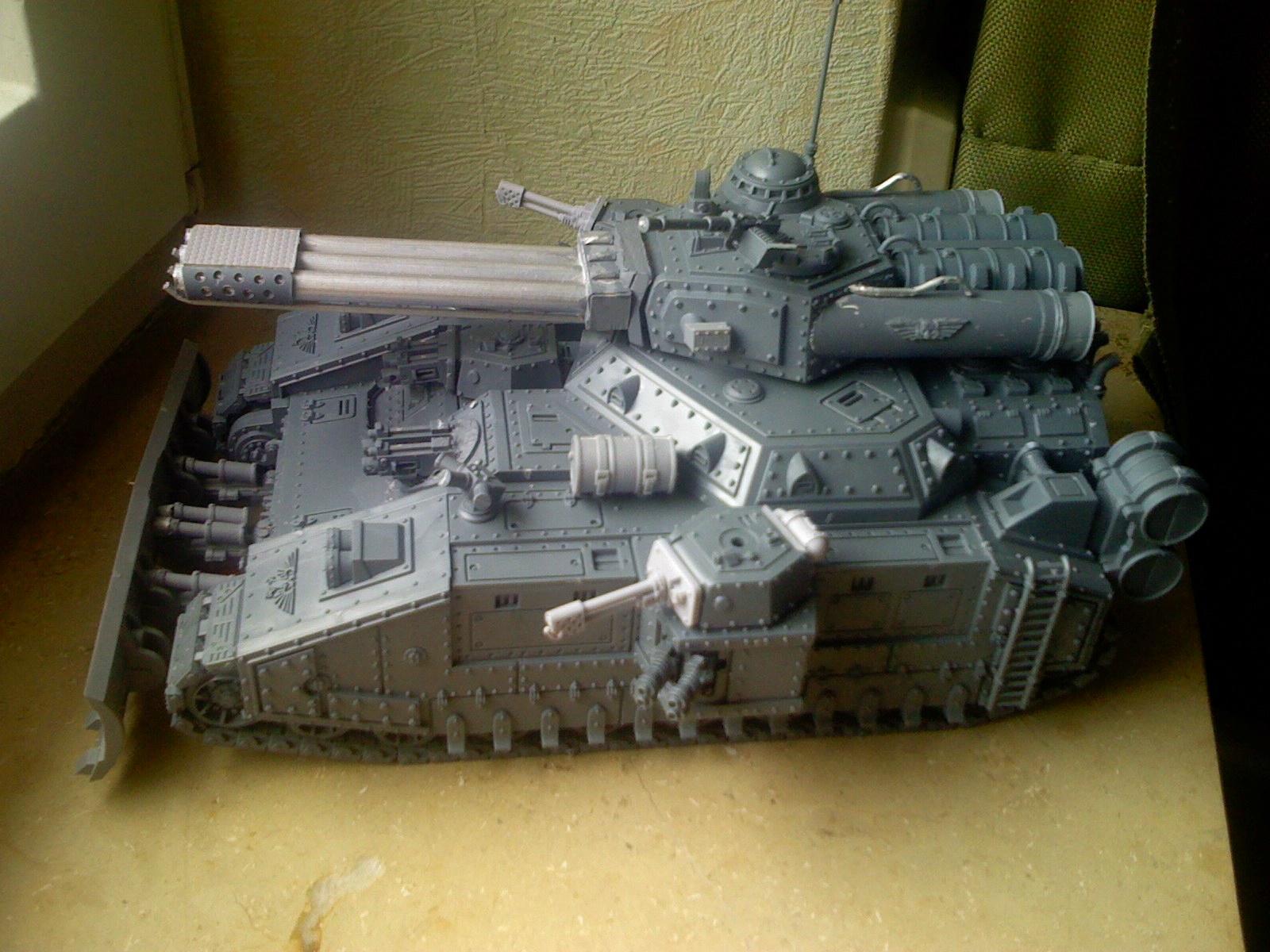 Firesword, Imperial Guard, Super-heavy, Work In Progress