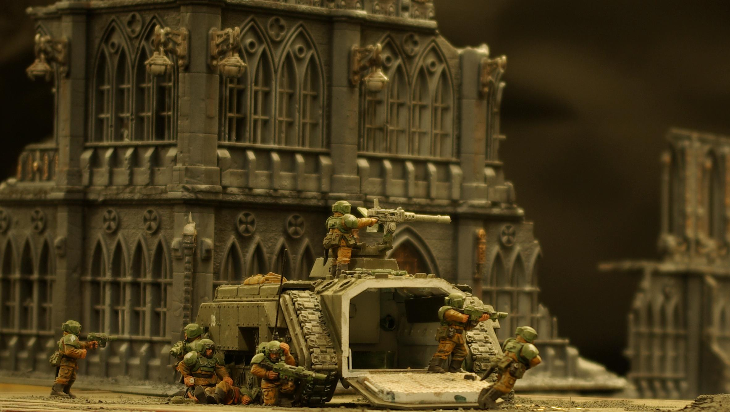 Action, Awesome, Chimera, Cities Of Death, Imperial Guard, Medic, Pegasus, Warhammer 40,000