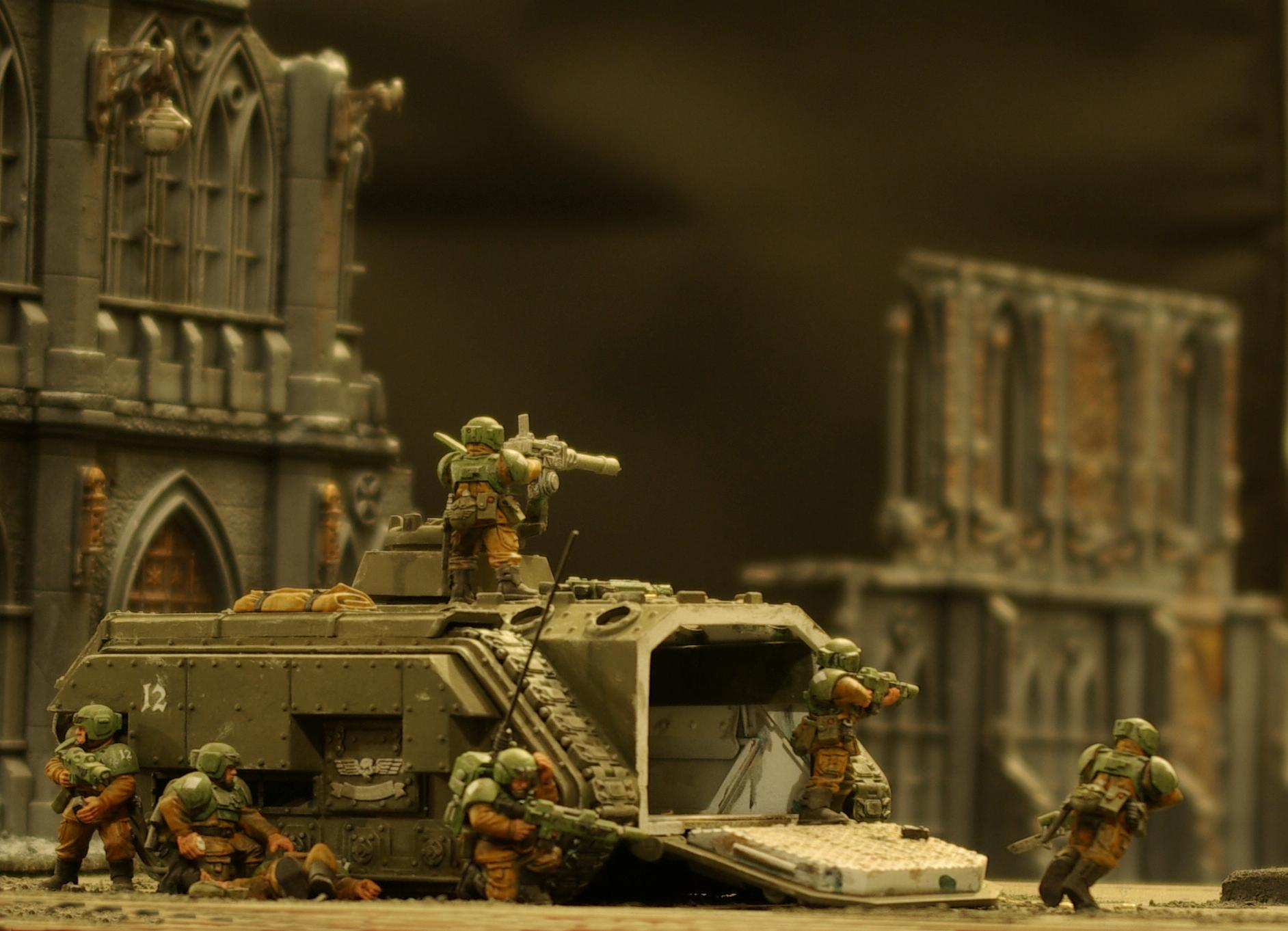 Action, Chimera, Cities Of Death, Imperial Guard, Medic, Warhammer 40,000
