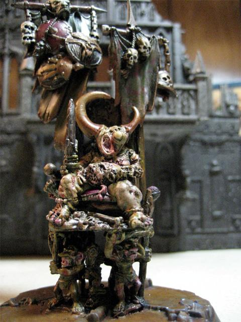 Chaos, Chaos Space Marines, Daemons, Herald, Nurgle, Palanquin, Warhammer 40,000