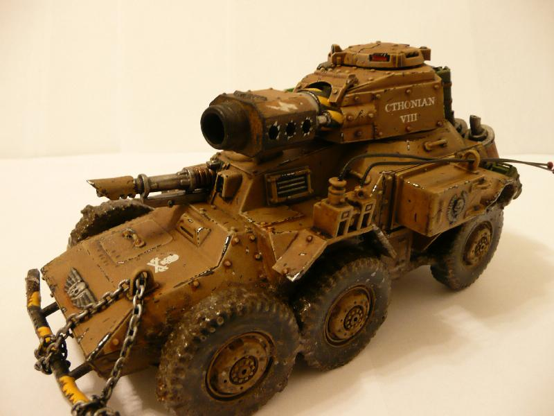 Conversion, Demolisher, Headquarters, Imperial Guard, Leman Russ, Tank, Vehicle, Warhammer 40,000, Wheeled