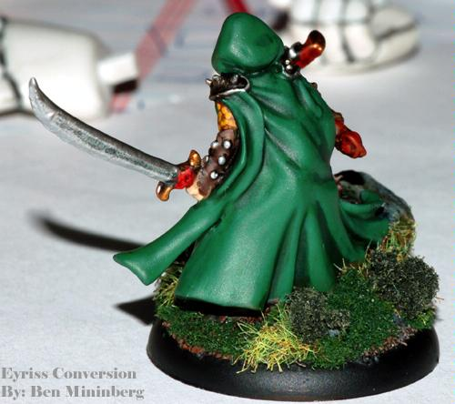 Crossbow, Elves, Eyriss, Green, Scenic, Warmachine