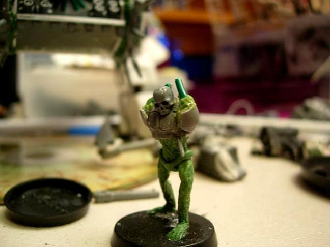Imperial Guard, Sculpting, Undead, Work In Progress, Zombie