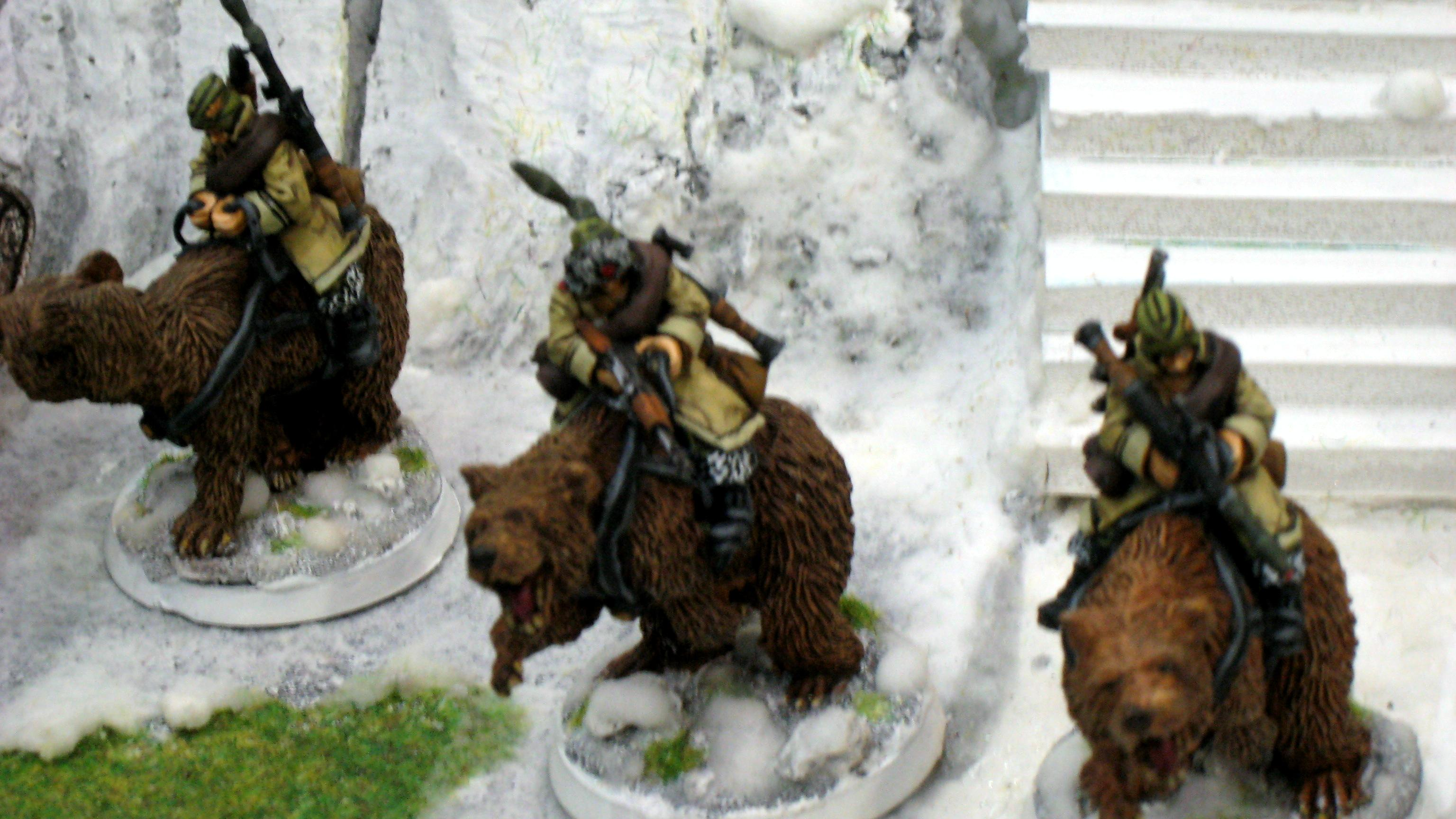 Bear, Bear Cavalry, Imperial Guard, Rough Riders, Russians