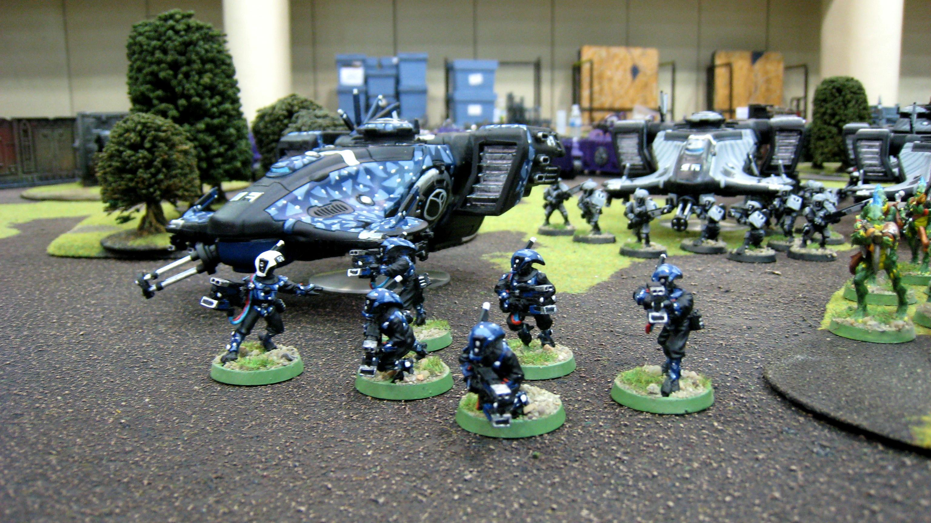 Camouflage, Devilfish, Pathfinders, Tau, Warhammer 40,000