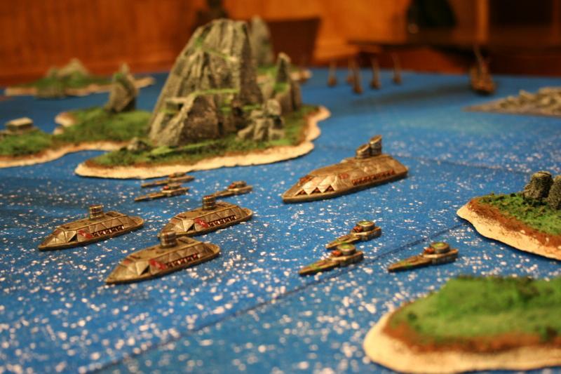 Dwarves, Fleet, Naval Combat, Uncharted Seas