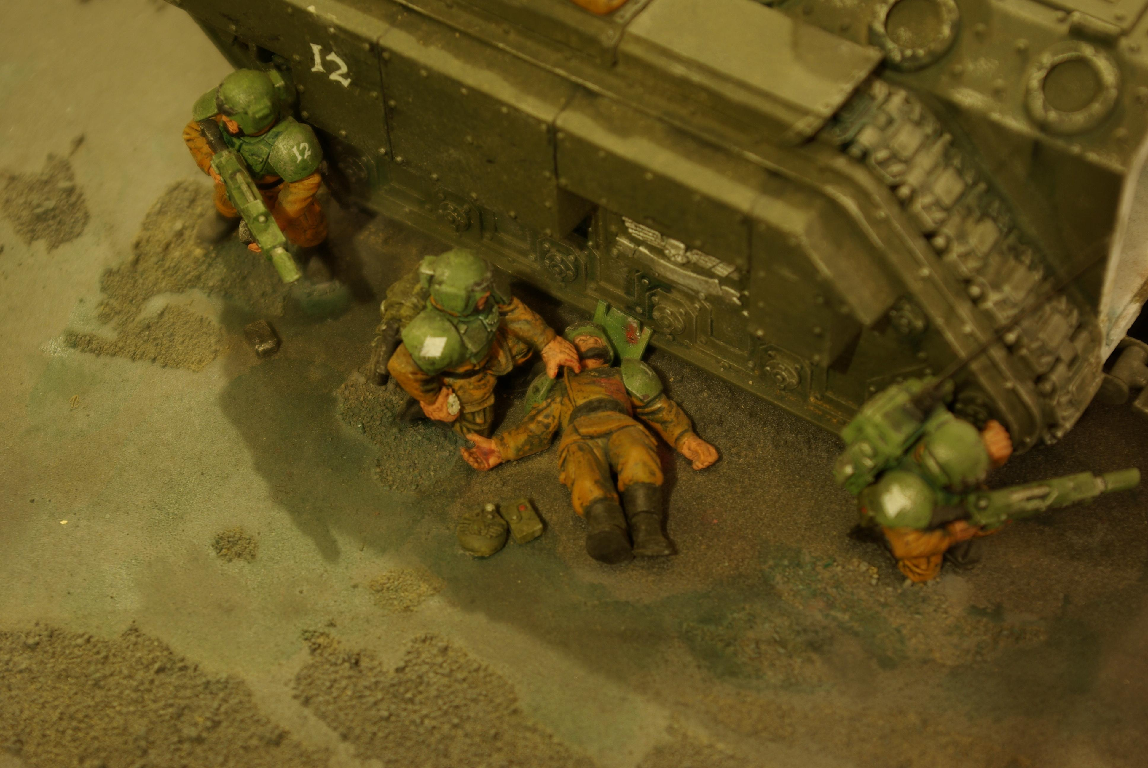Action, Awesome, Chimera, Imperial Guard, Medic, Warhammer 40,000