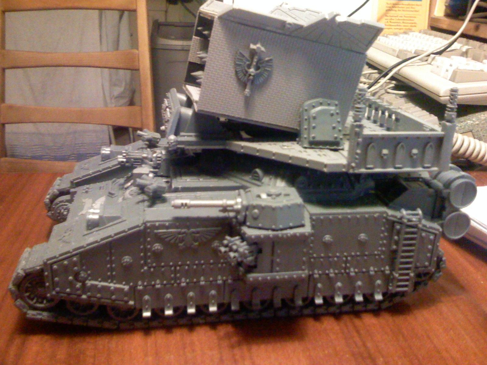 Apocalypse, Baneblade, Super-heavy, Warhammer 40,000, Work In Progress