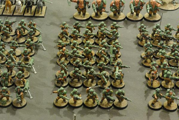 Army, Cadians, Imperial Guard