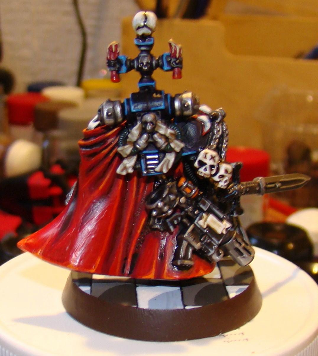 Black Templars, Cape, Helbrecht, Marshal, Space Marines, Warhammer 40,000