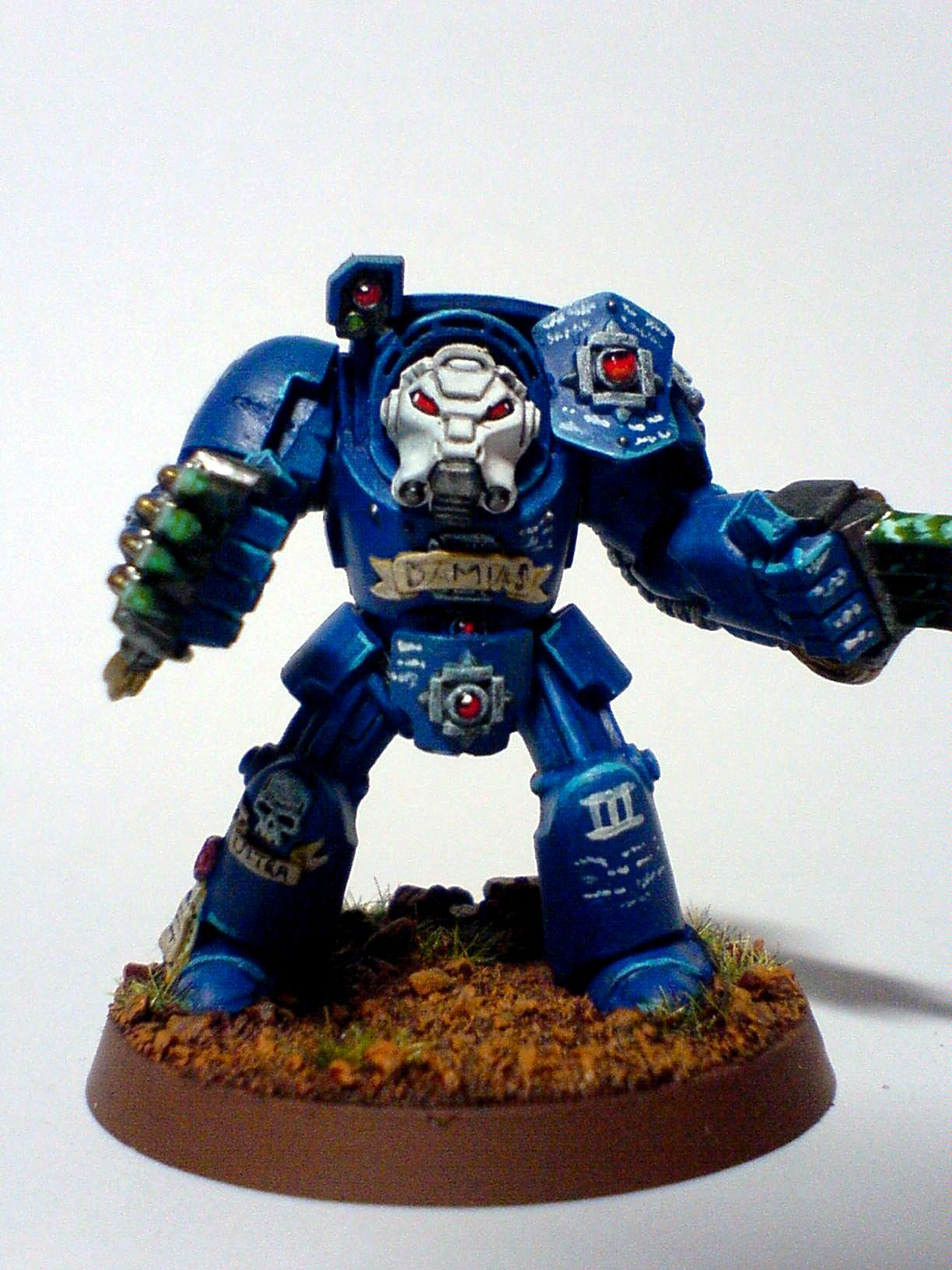 Assault Squad, Lightning Claws, Space Marines, Terminator Armor, Ultramarines, Warhammer 40,000