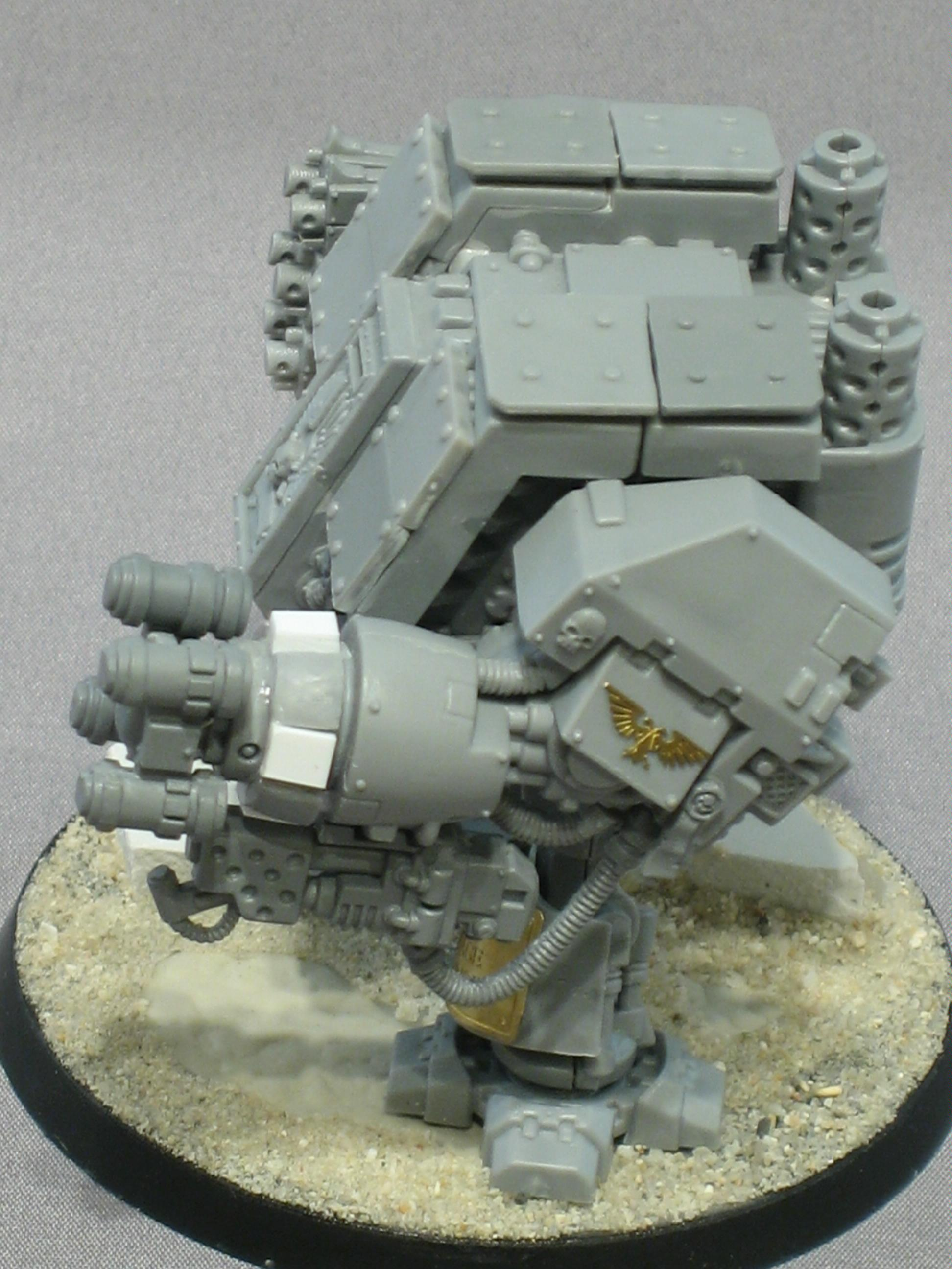 Conversion, Ironclad, Seismic Hammer, Space Marines