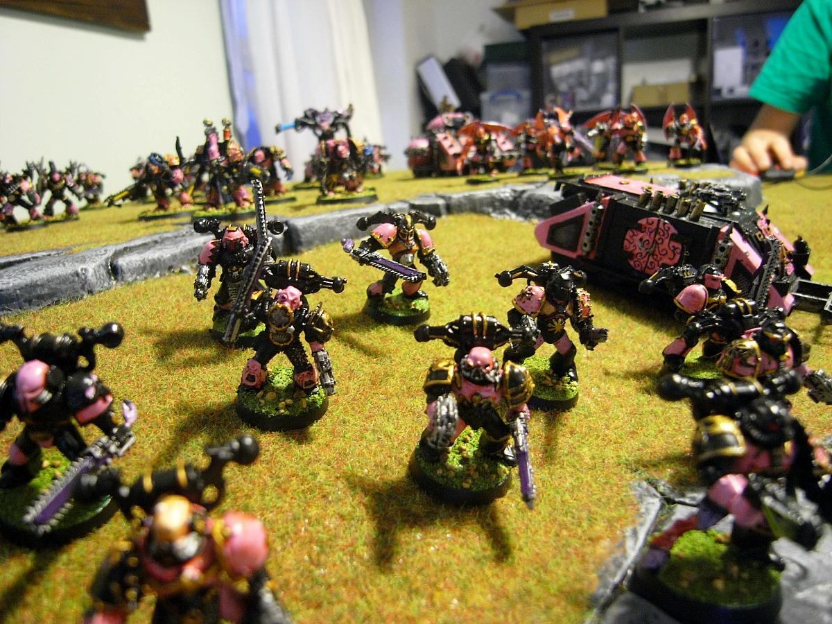 Astartes, Chaos, Children, Classic, Conversion, Emperors, Noise, Out Of Production, Pink, Slaanesh, Space, Space Marines, Warhammer 40,000