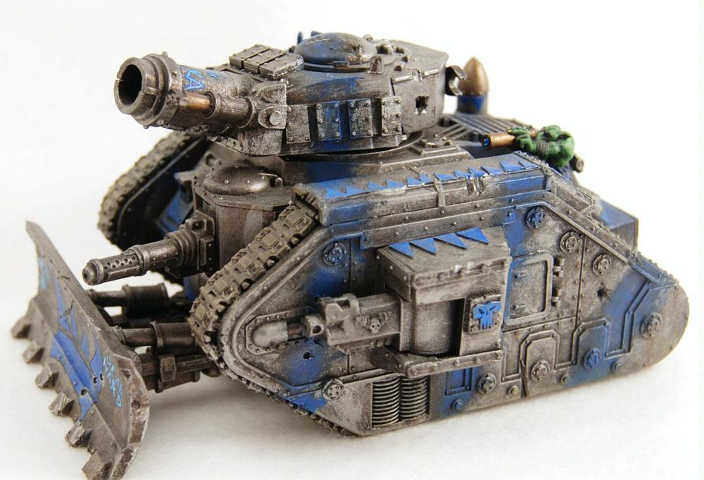 Conversion, Deathskulls, Leman Russ, Looted, Orks, Plasticard, Tank, Waaagh, Warhammer 40,000