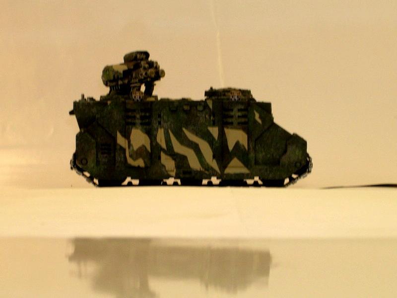 Camouflage, Razorback, Space Marines, Warhammer 40,000