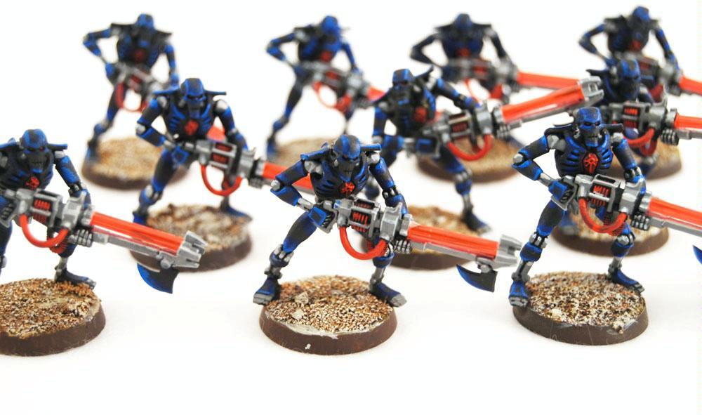 Conversion, Infantry, Necrons, Warhammer 40,000