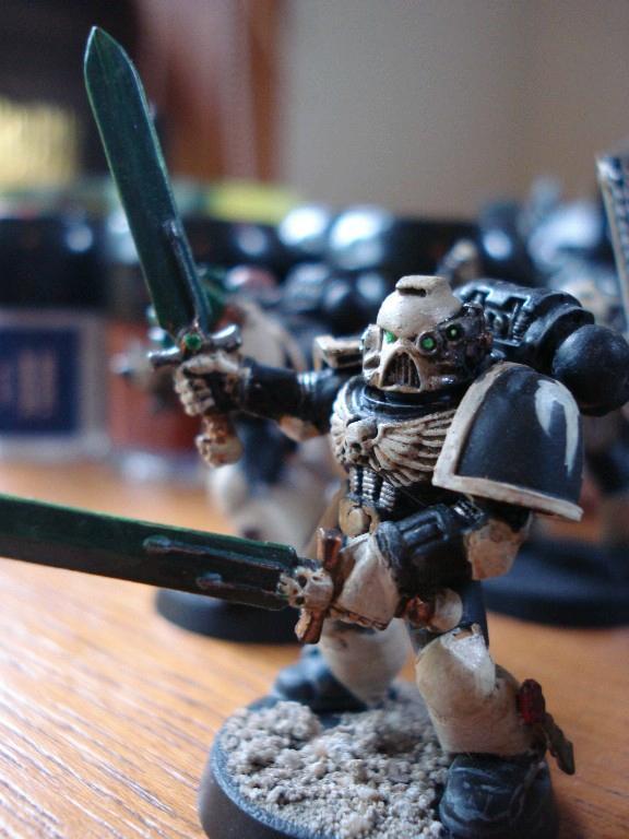 Space Marines, Veteran - Dual Power Swords