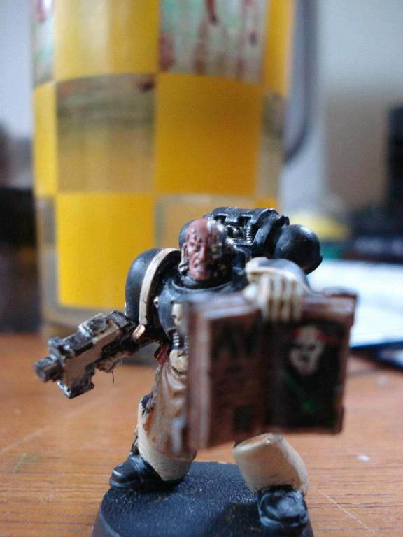 Book, Freehand, Space Marines