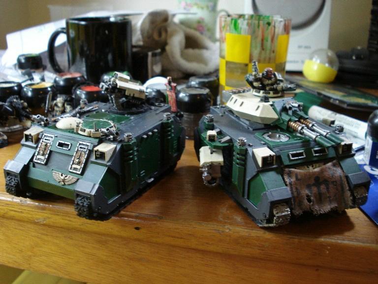 Predator, Razorback, Space Marines, Warhammer 40,000