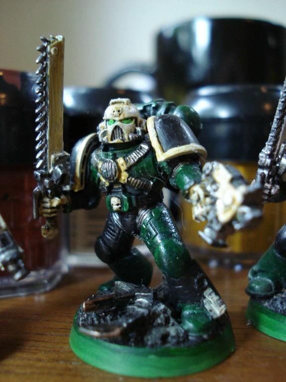 Assault Marines, Chainsword, Space Marines, Warhammer 40,000
