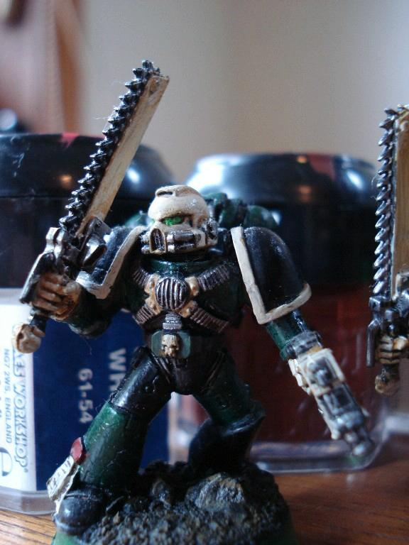 Assault Marines, Chainsword, Space Marines, Warhammer 40,000