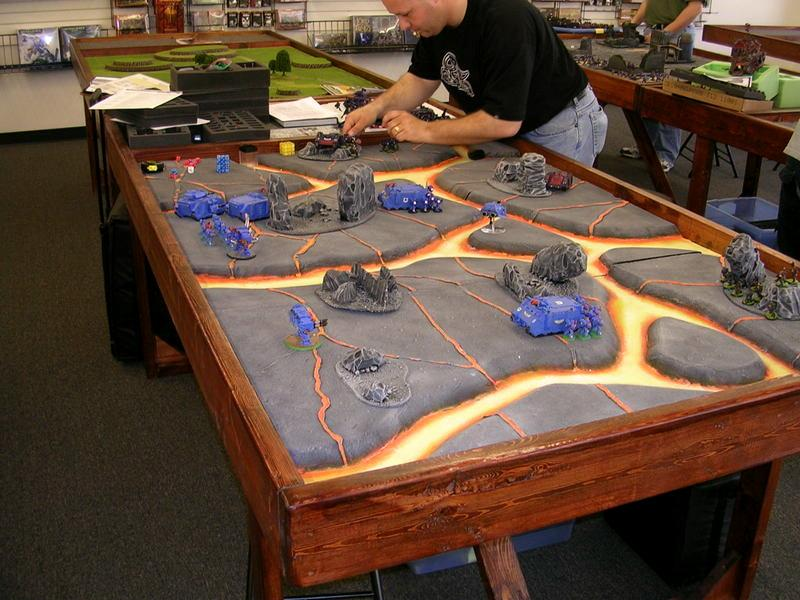 Game Table Lava Terrain Warhammer Lava Board Gallery - Cheap board game table