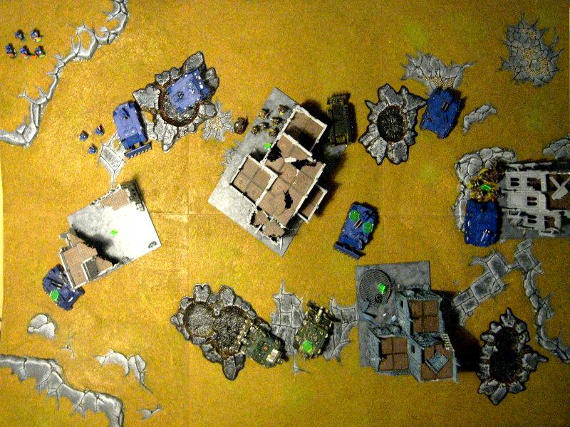 Battle Report, Chaos Space Marines, Games Workshop, Space Marines, Ultramarines, Warhammer 40,000