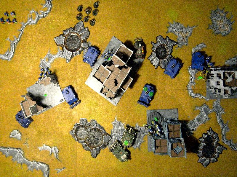 Battle Report, Chaos Space Marines, Games Workshop, Space Marines, Warhammer 40,000